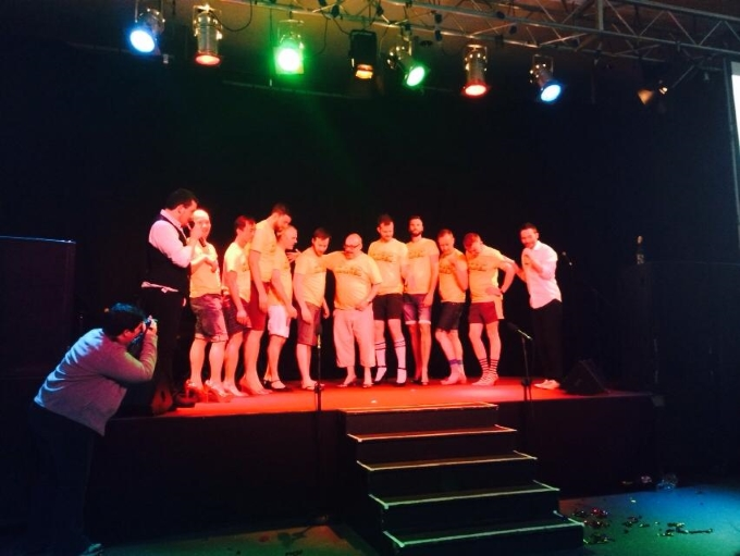 Barberfellas perform at various Voices Dublin.